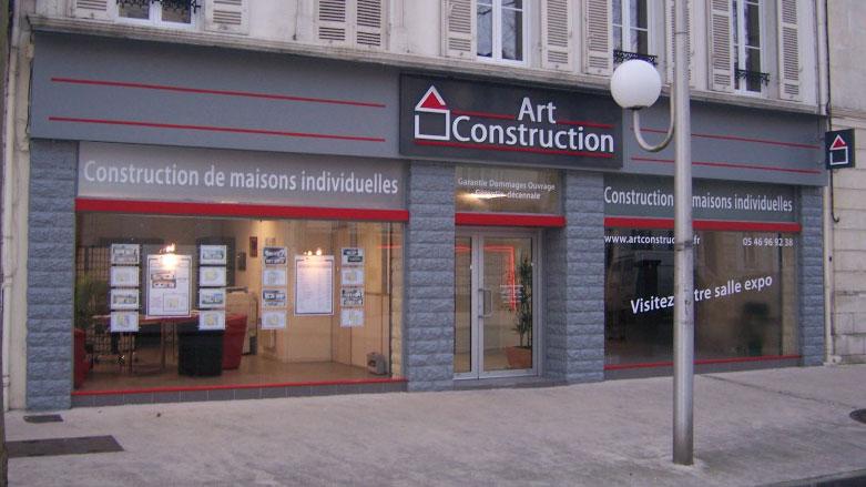 Art Construction constructeur de maison dans le 17