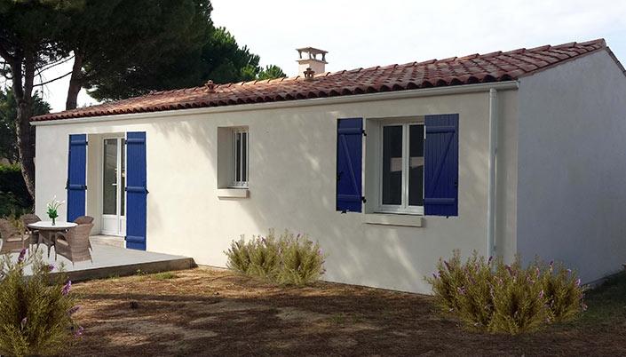 maison construite par Art Construction dans le 17