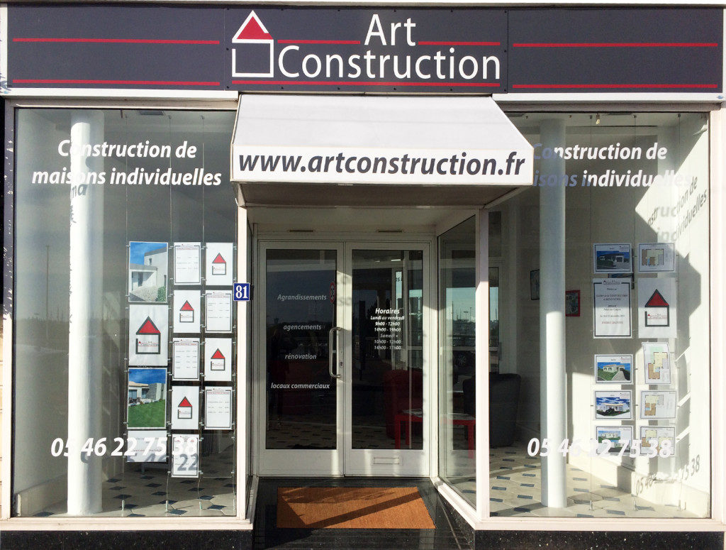 Agence du constructeur Art Construction à Royan